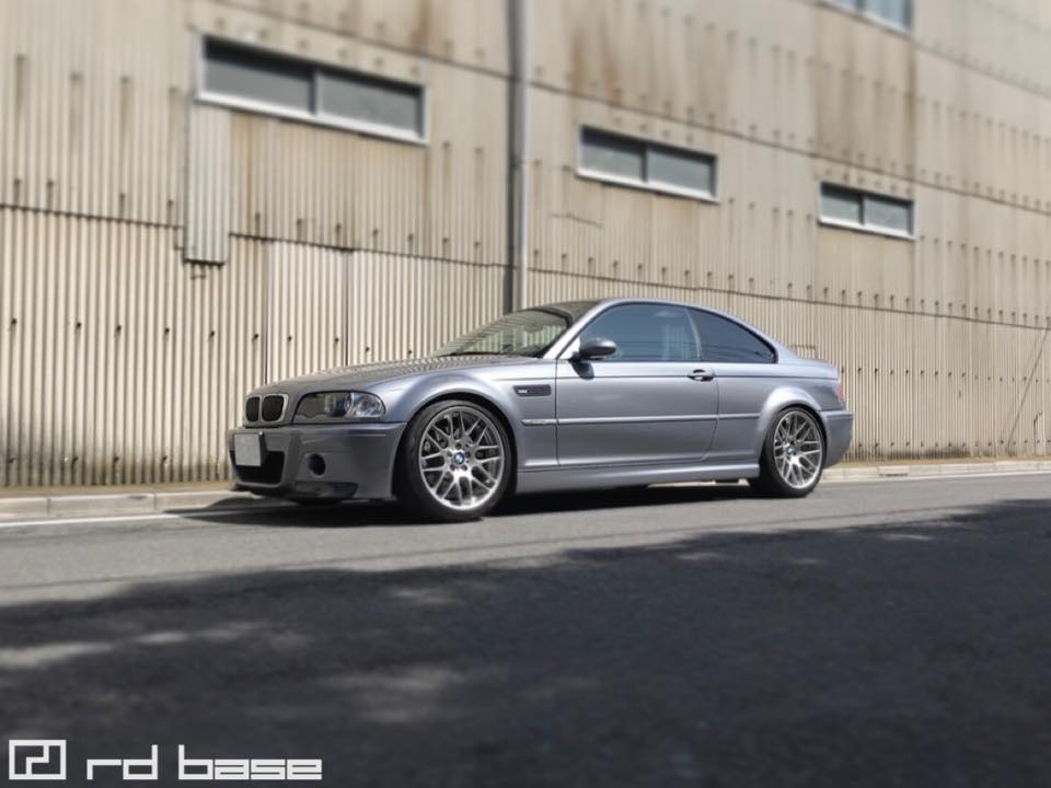 BMW E46M3 CSL X KW CLUBSPORT!