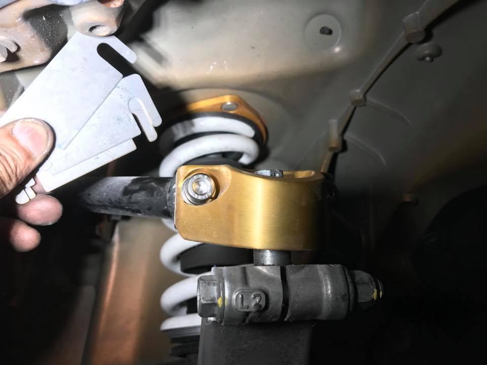 35GT-R アライメント調整