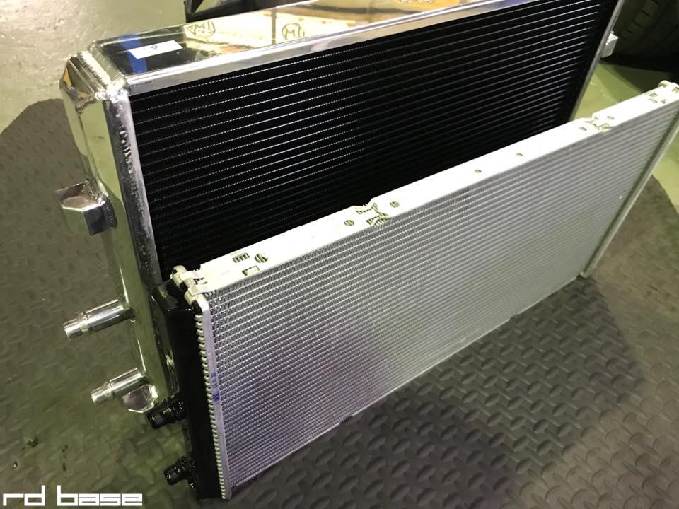F82M4チャンピョンエディションに放熱処理をしたヒートエクスチェンジャー取付!