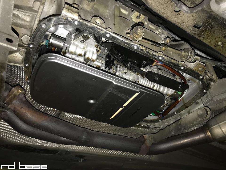 BMW E46 ATF交換!