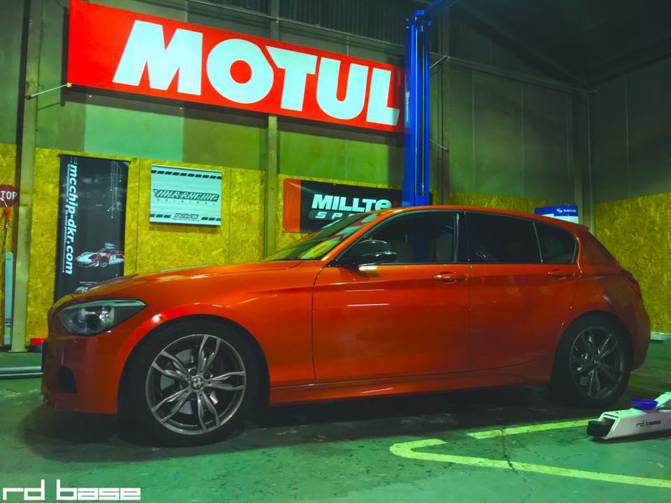 BMW M135 ATFフルード交換