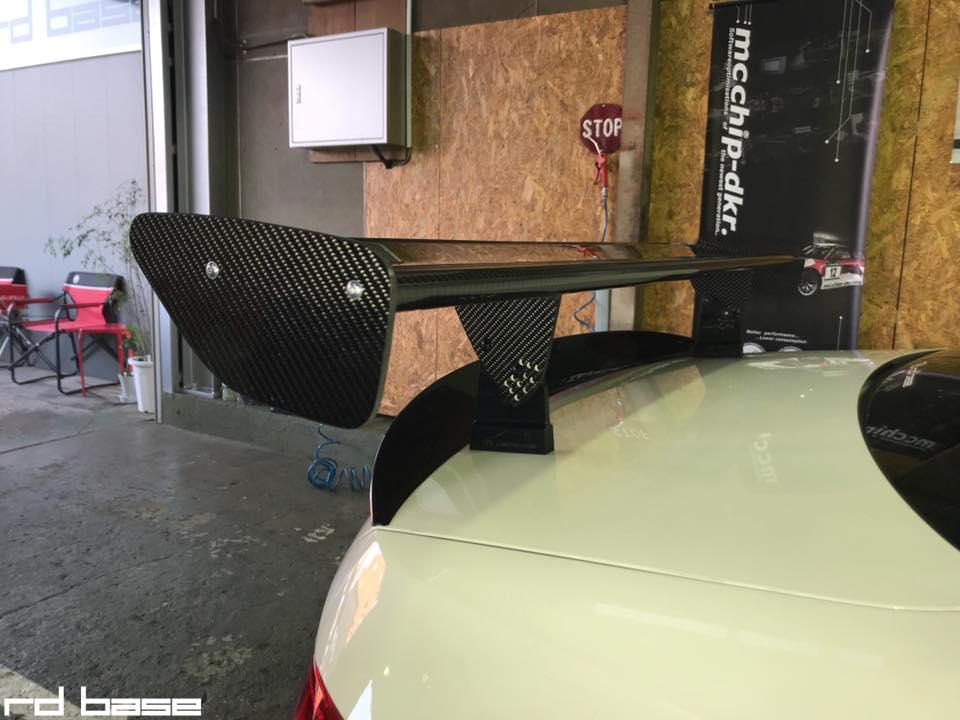 M3 GT4 GT WING!