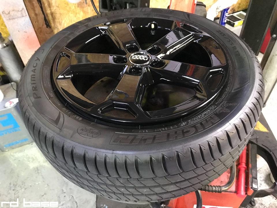 AUDI Q2にAUDI純正オプションのタイヤ・ホイールを装着致しました