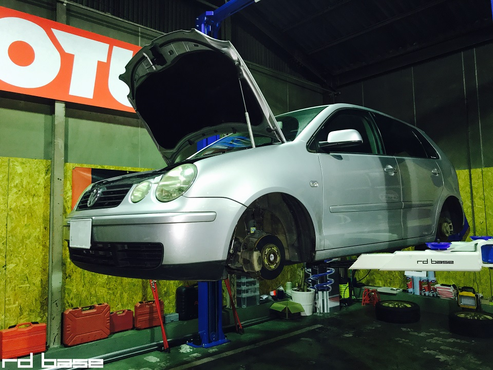 VW POLO車検整備!