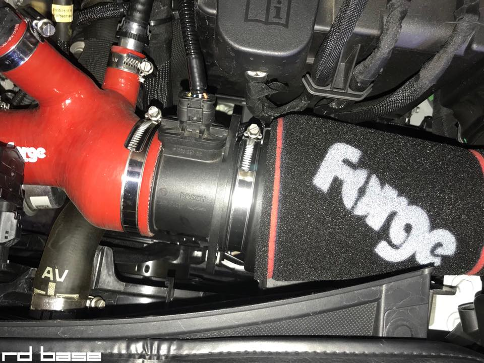 CITROEN DS3にForge MOTORSPROT