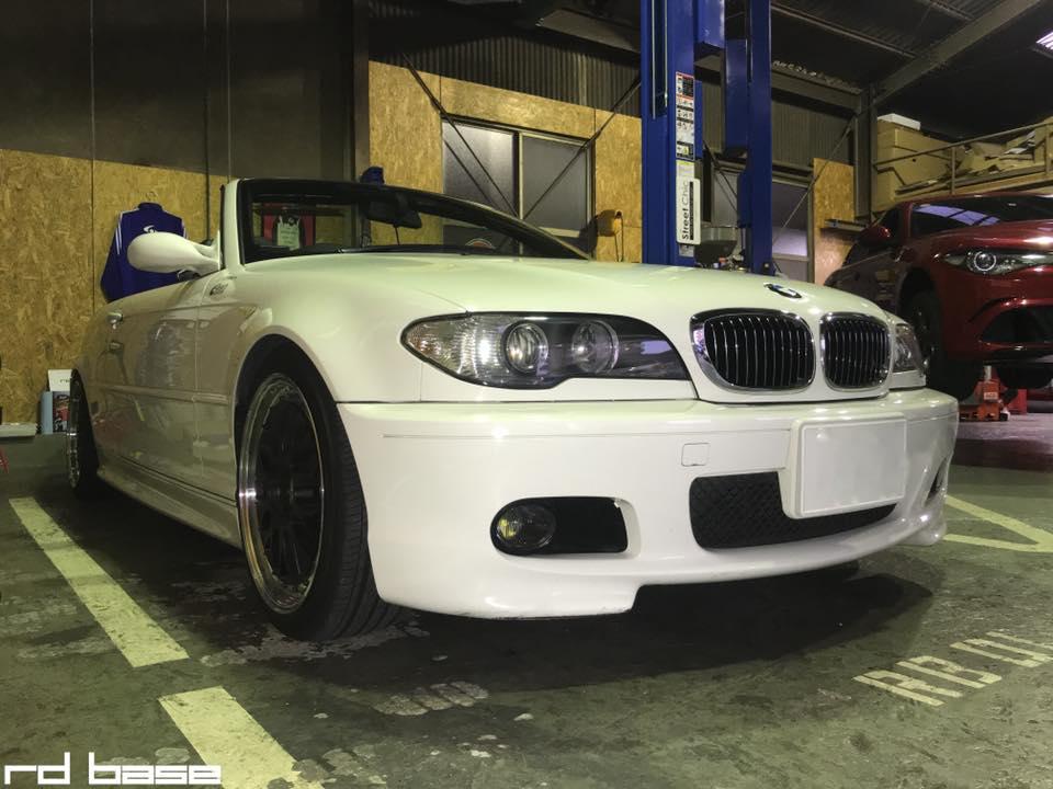 KW車高調を BMW E46に装着‼︎