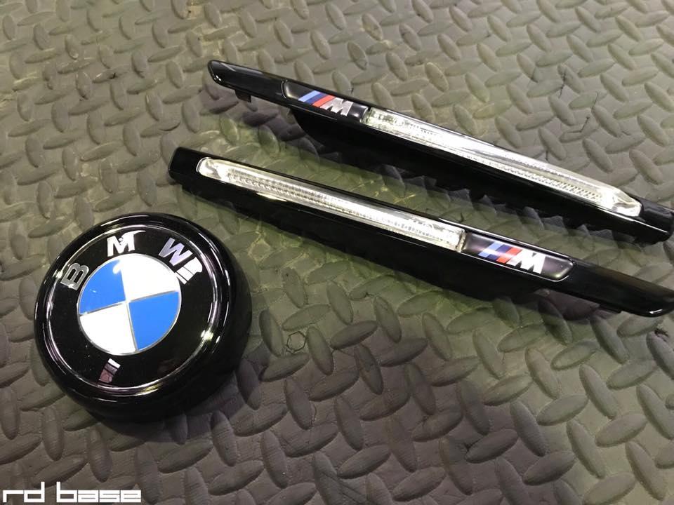 BMW X6M ブラッククローム加工