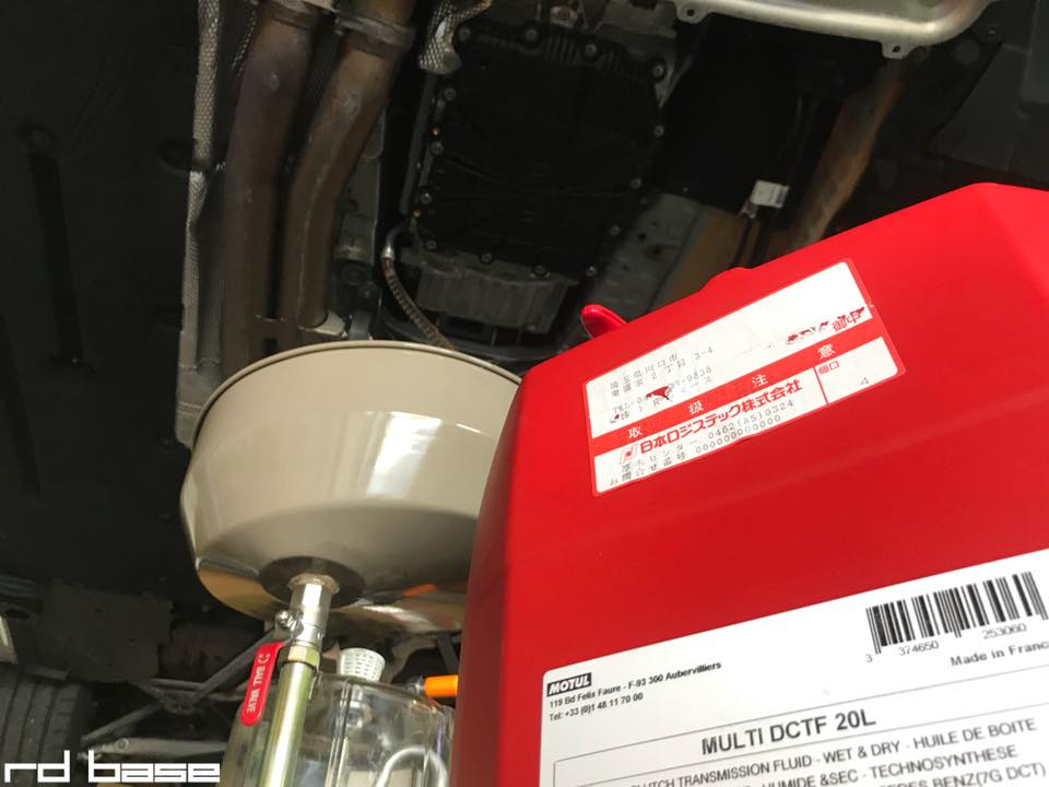 BMW F80M3 DCTのフルード・フィルター交換‼︎