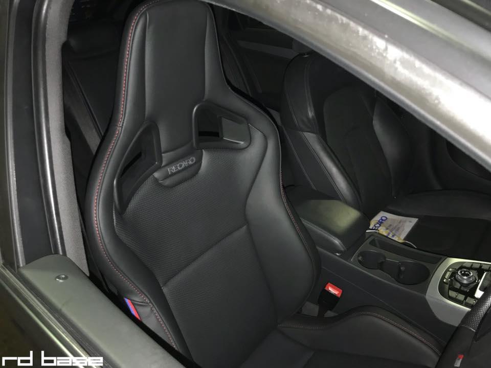 AUDI A4 AVANTにRECARO Sportster装着‼︎