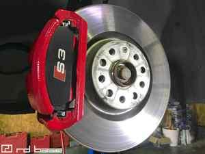 AUDI S3 ブレーキパッド交換‼︎