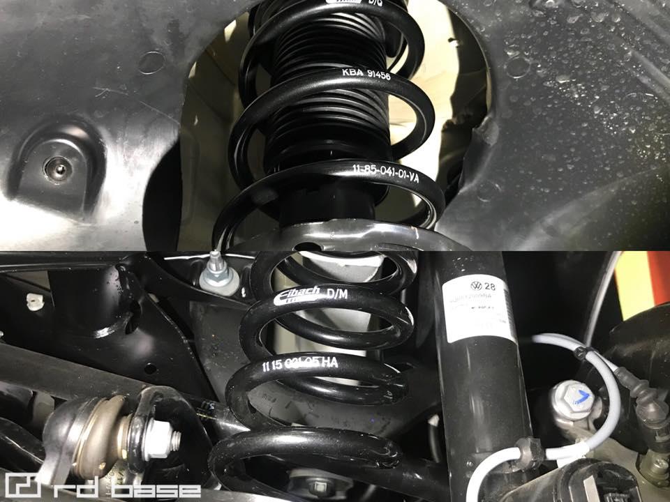 新車のGOLF R バリアントに色々装着して納車‼︎