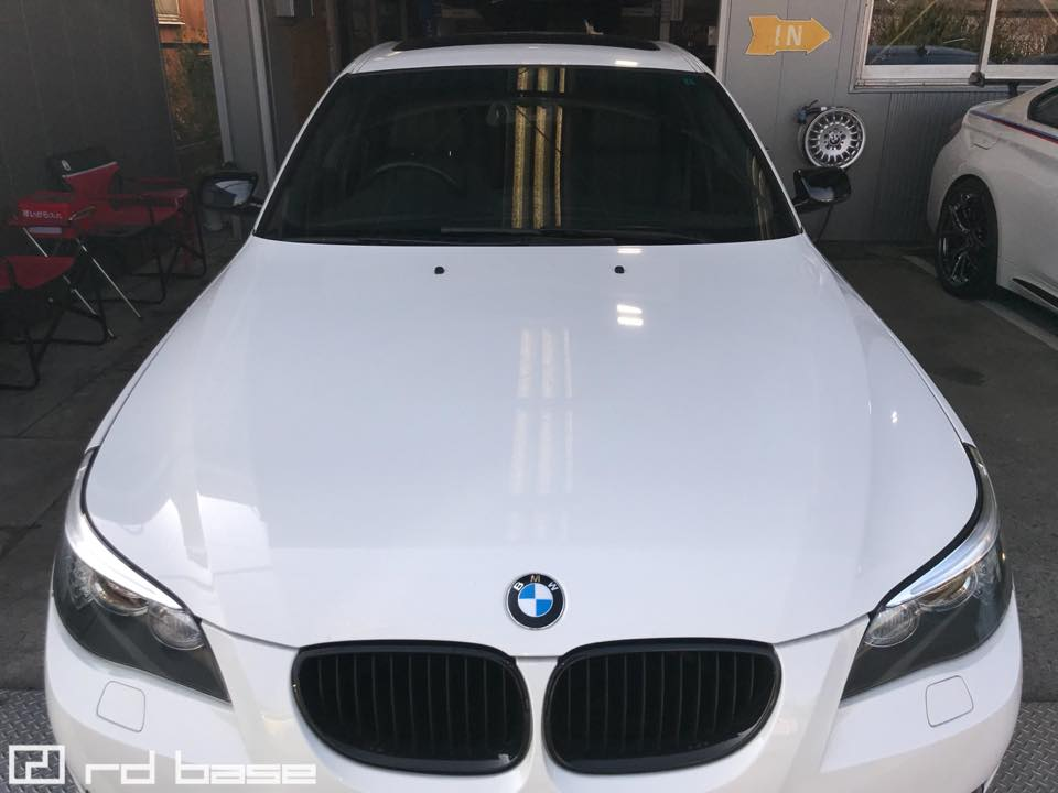 BMW E60のドアミラーカバー