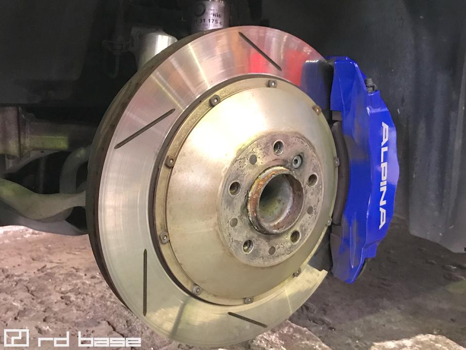 ALPINA B3 GT3 ブレーキフルード交換!