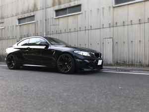 BMW M2にBC RACINGの車高調を取付‼︎