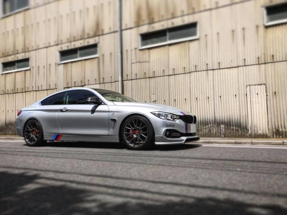 BMW F32 チャージパイプ交換‼︎