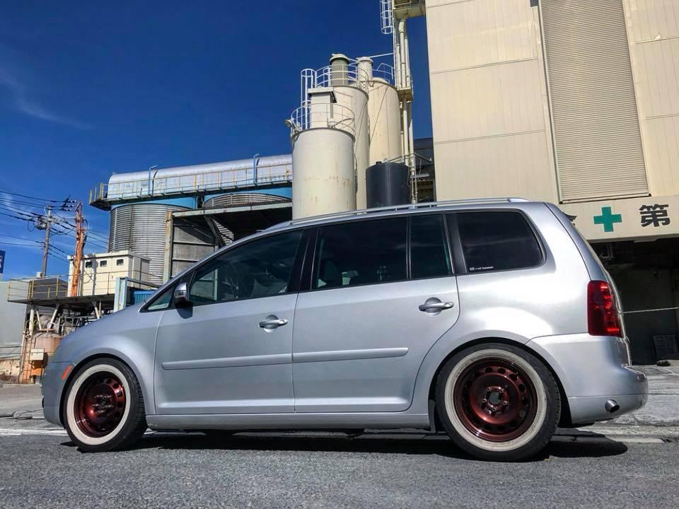 VW TOURAN サイド出しワンオフマフラー‼︎