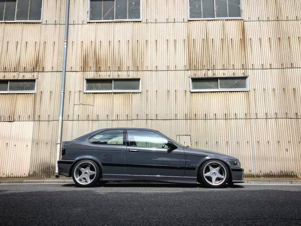BMW E36 318ti M/T 車検メンテナンス‼︎