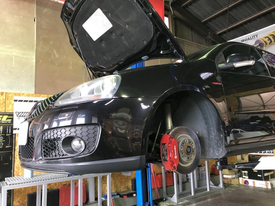 遊び車として買ってきたGOLF5GTI車検整備‼︎