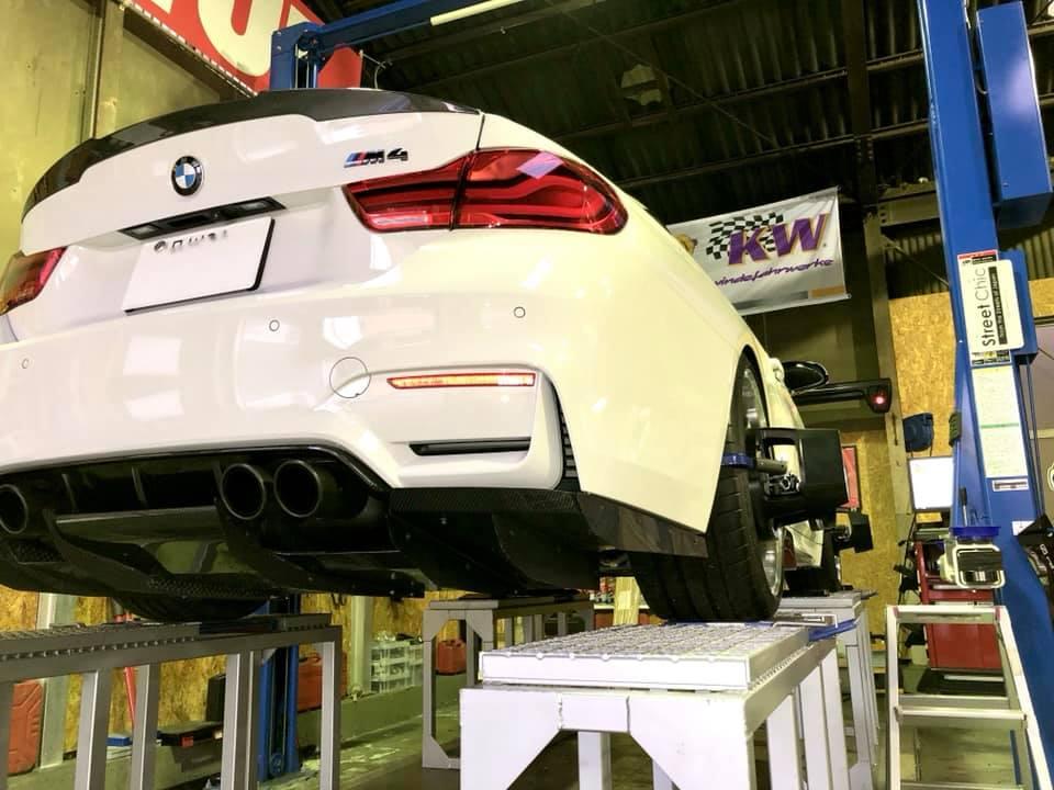 BMW M4にAP RACING PRO5000Rを装着!