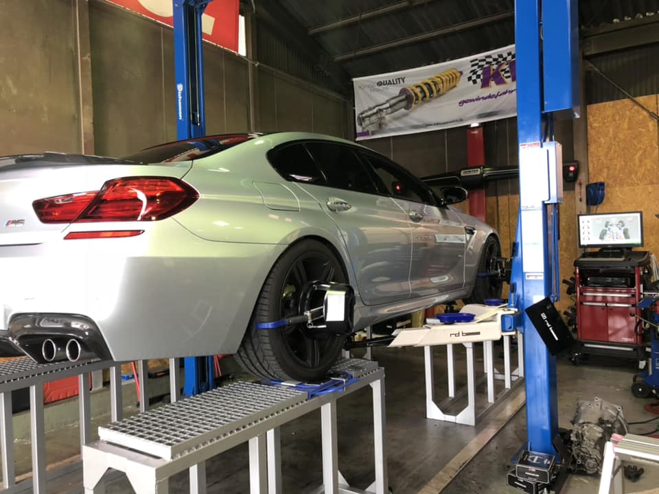 BMW M6 × KW HAS‼︎