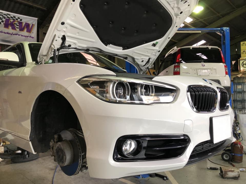 BMW F20にフォクトランドダウンサス取付!