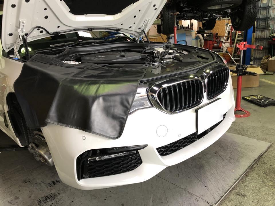 BMW G31にH&Rのダウンサスを装着‼︎