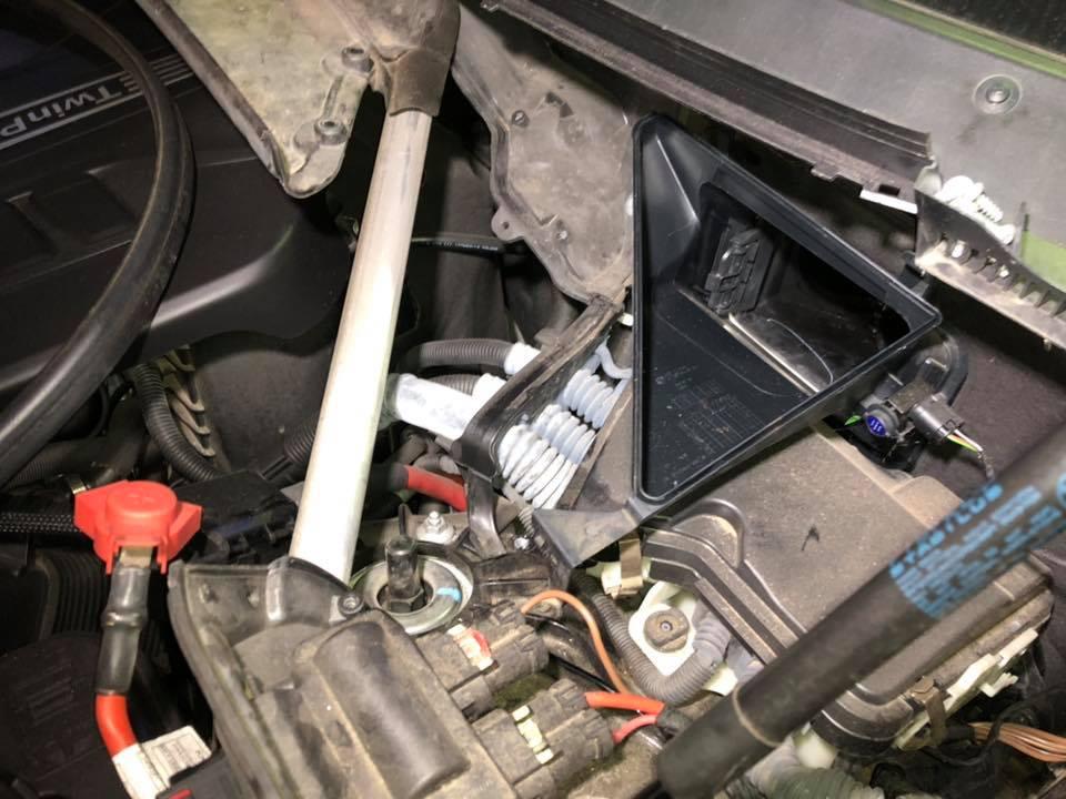 BMW F15 X5にH&Rダウンサス装着!
