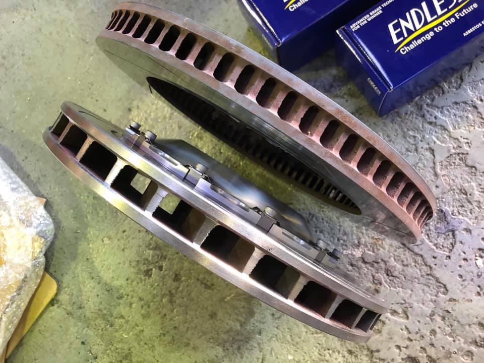 E92M3 ローター交換!