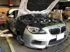 BMW M6GCに色々取付!
