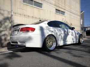 BMW E92M3に色々取付‼︎