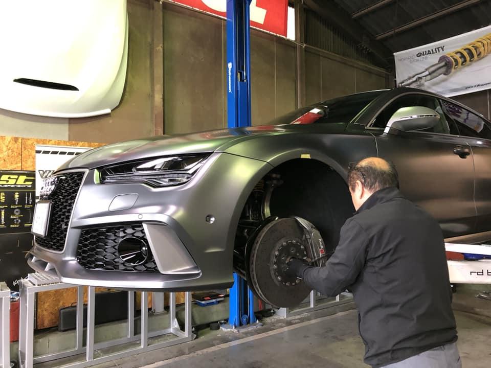 FIAT 500 X AUDI RS7 Performance!