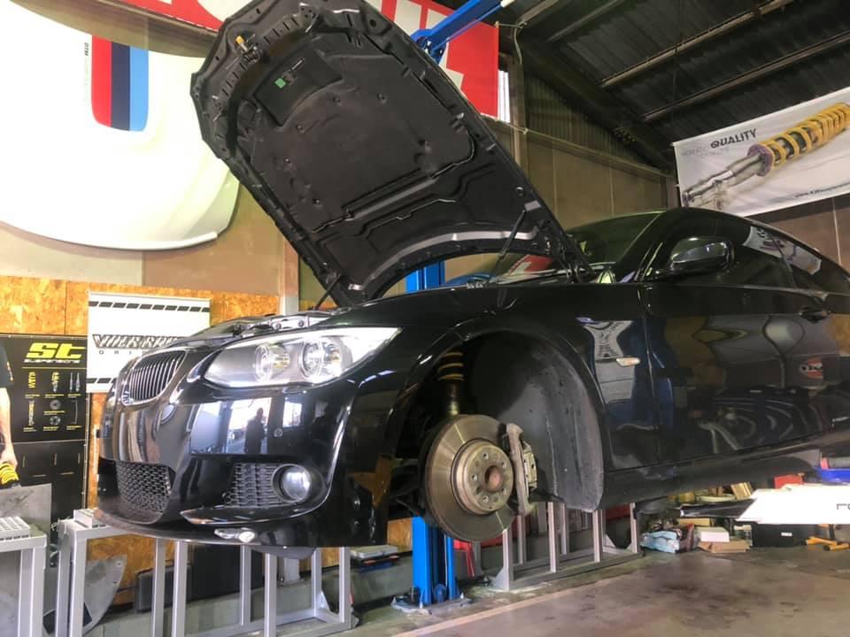E92 335i  X  E89 Z4 35is  車検整備!