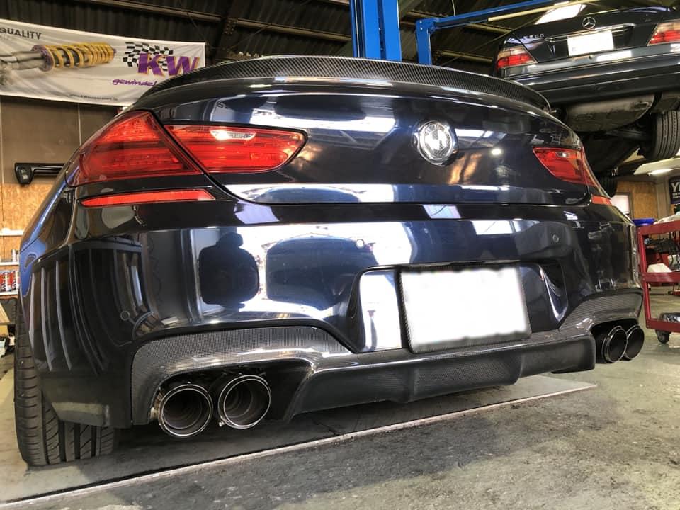 BMW F06GC ワンオフマフラー制作 X その他色々!