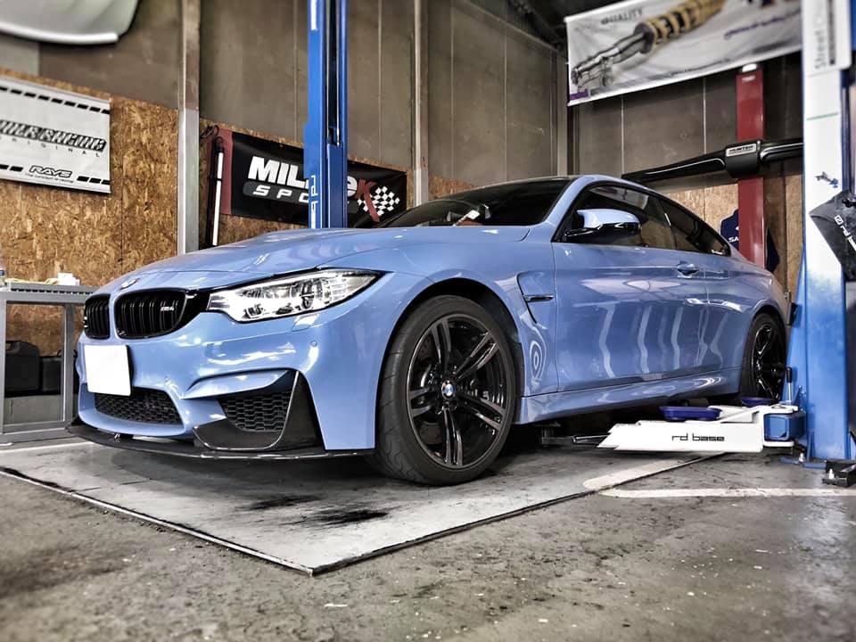 BMW M4にローテンプサーモ取付!