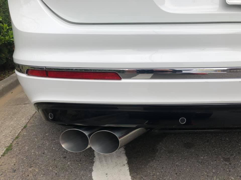 VW Tiguan ワンオフマフラー製作‼︎