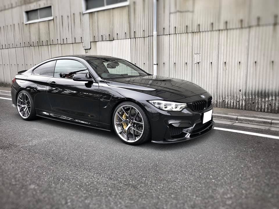 BMW M4  X  BBS RI-S!