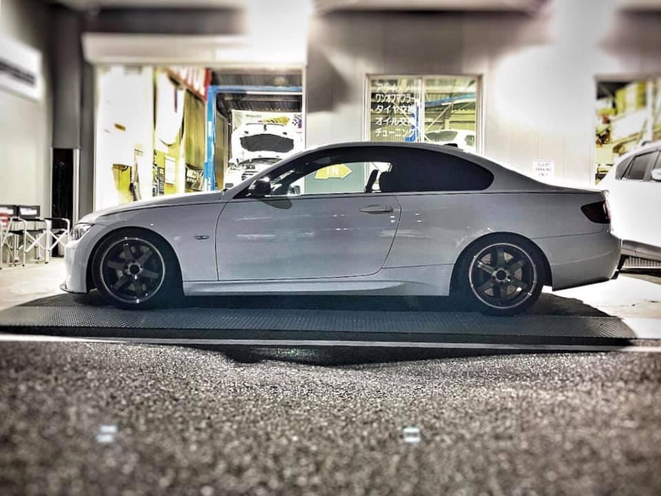 BMW E92 335i N54にmcchip-dkr stage2 ecuチューニングを施工‼︎