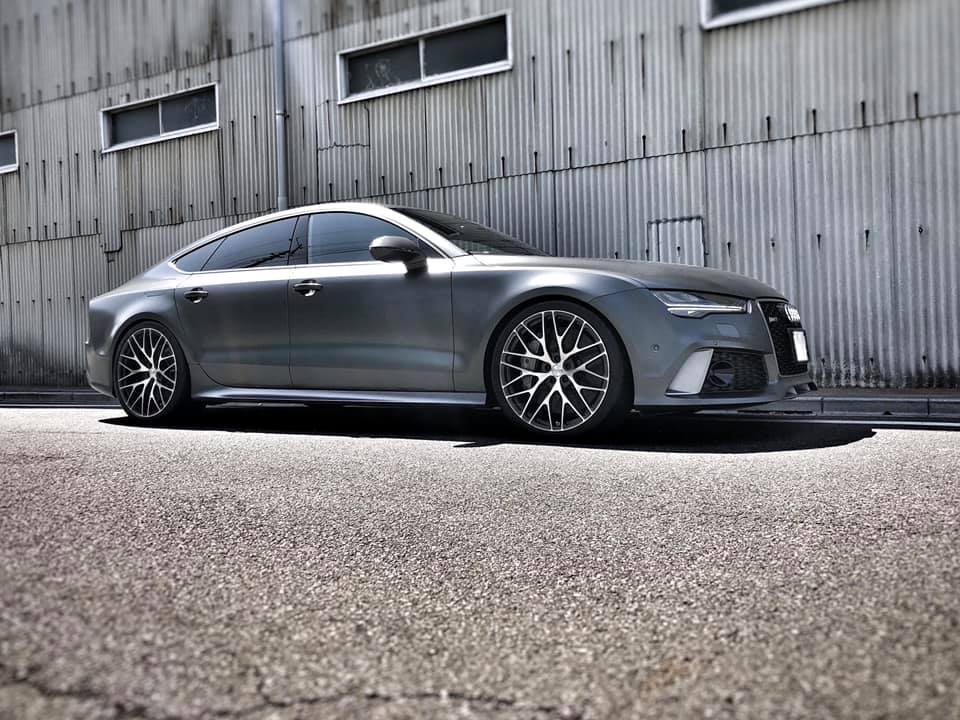 AUDI RS7パフォーマンス  X  TSW FORGED WHEEL!