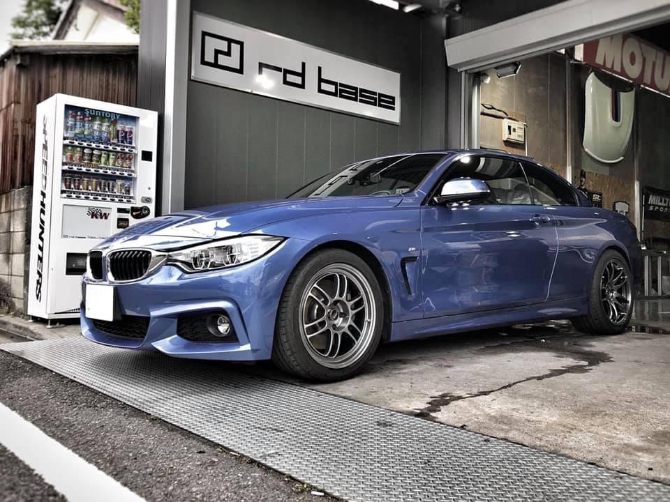 BMW F33 435さん車検整備‼︎