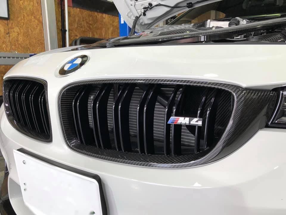 BMW M4 いろいろ作業!