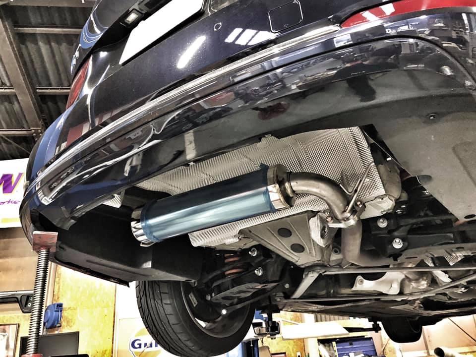 320d GT ワンオフマフラー制作!