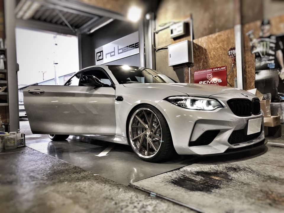 BMW M2 competition ワンオフマフラー完成!
