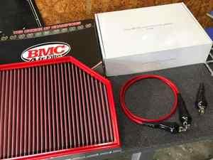 VOLVO XC90 T6に色々取付!