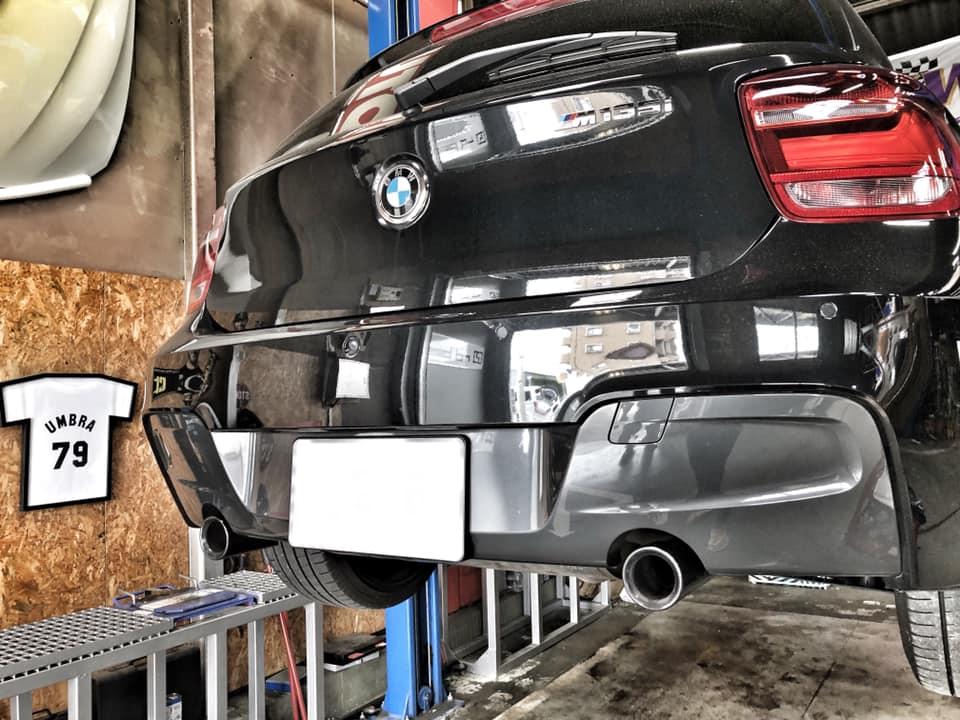 BMW F20 M135iワンオフマフラー制作!