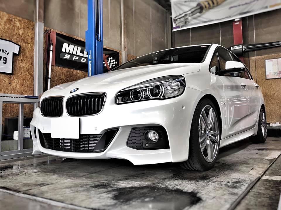 BMW 225i X driveさんにKWストリートコンフォート!