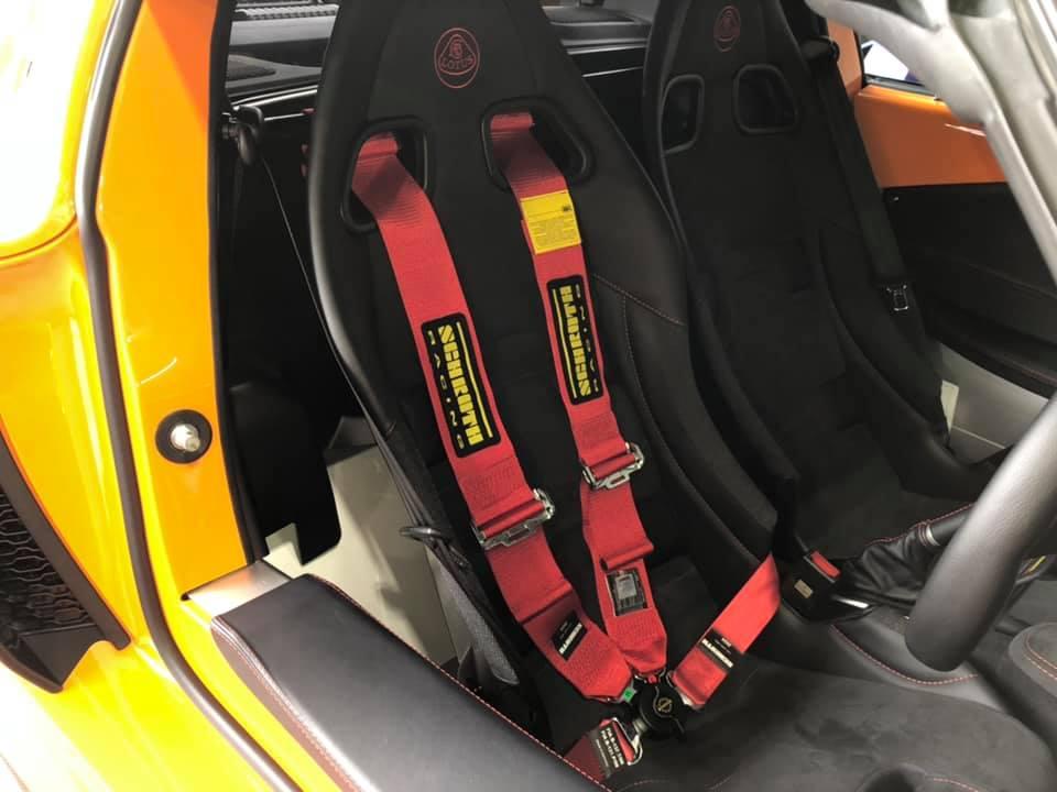 LOTUS EXIGE SPORT 380さんサーキットの準備!