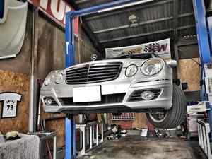 BENZ W211 ドラシャブーツ交換!