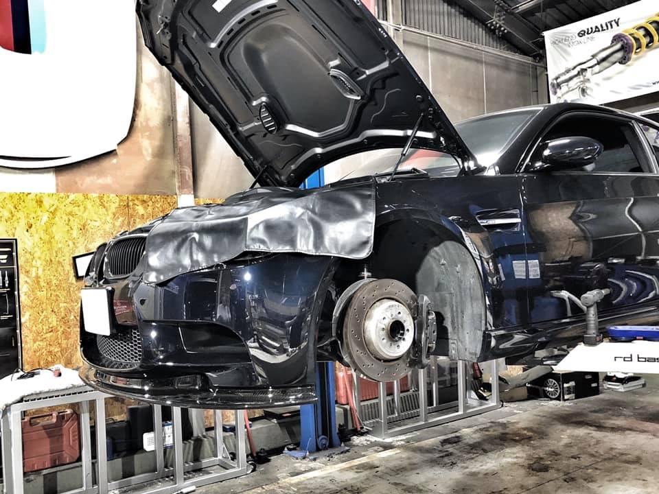 E92M3 車検の準備開始!