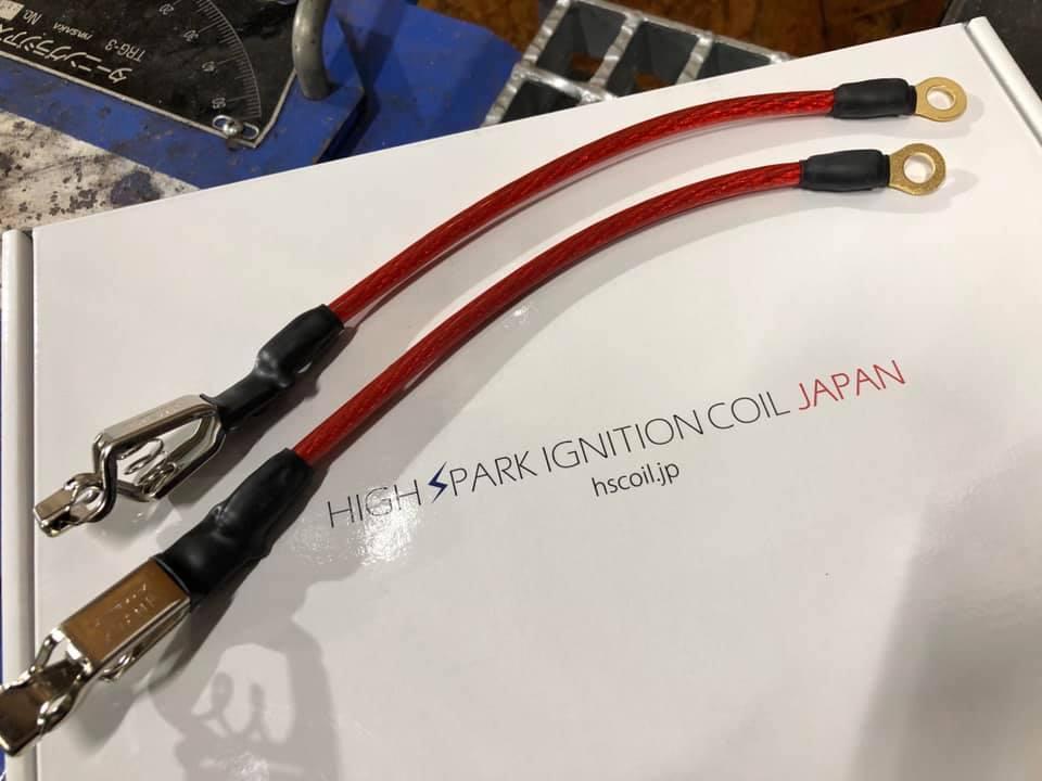 F80M3さんにハイスパークノイズリダクションマフラーケーブルを装着!