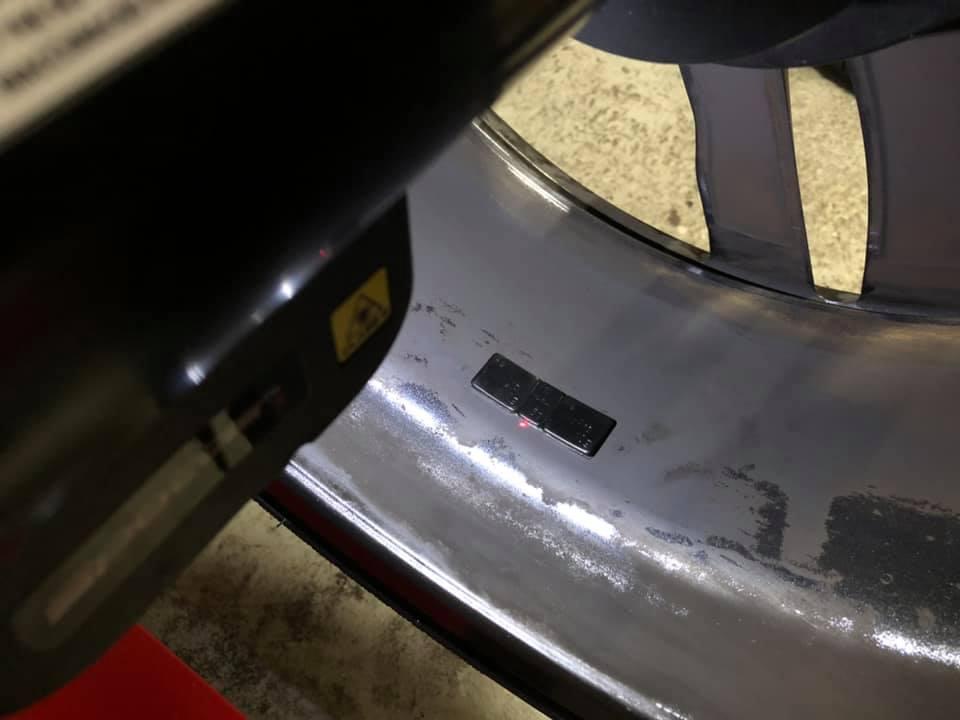BMW 440iさんタイヤ交換で入庫!
